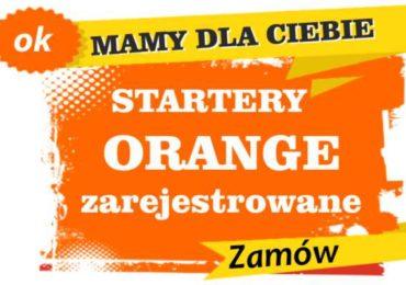 Sprzedam zarejestrowane karty sim orange Jeziorany  zadzwoń 887 332 665